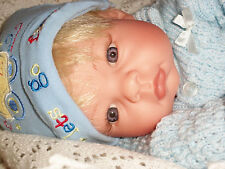 "REVA , 2000 MIDDLETON , 21"" BABY BOY, BLONDE, BLUE EYES"