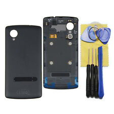 For LG Google Nexus 5 D820 D821 Battery Door Back Housing Cover with NFC Black