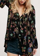 Free People Just the Two of Us Printed Tunic L