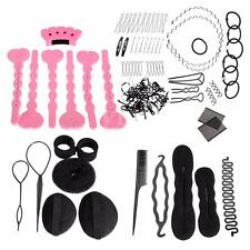 Magic Hair Style Maker Foam Pads Sponge Bun Donut Hairpins Accessory Tool Set