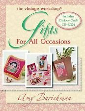 The Vintage Workshop : Gifts for All Occasions by Amy Barickman (Incl. CD-ROM)