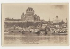 Canada, Quebec from River Real Photo Postcard, B132
