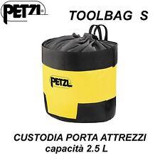 PETZL TOOLBAG S Custodia porta attrezzi da lavoro Sacca 2.5 litri S47Y