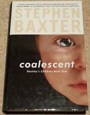 Stephen Baxter SIGNED Coalescent UKHC 1st Edn Destiny's Children Book One