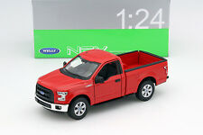 Ford F-150 Regular Cab Baujahr 2015 rot 1:24 Welly