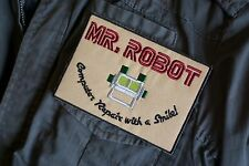 MR ROBOT Badge Patch For Costume / Halloween UK Stock F Society Edward Alderson