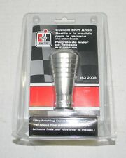 HURST Custom Polished Aluminum Billet Shift Knob #1632008 UNIVERSAL NEW!!