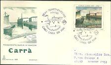 ITALIA BUSTA Capitolium CARRA'  FAENZA 1981 ANNULLO SPECIALE FDC QUARGNENTO (AL)