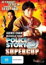 Police Story 3: Super Cop DVD Region ALL