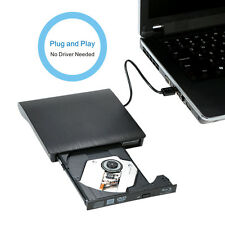Ultra Slim External Drive USB 3.0 BD-ROM 3D Blu-Ray Burner Writer Player Black