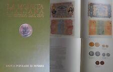 Imponente catalogo sulle Monete banconote Italiane 2 volumi banca Novara