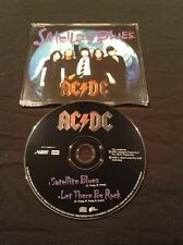 AC/DC SATELLITE BLUES CD  AUSTRALIA PRESS  EMI  ALBERT 72438898402 7  RARE OOP