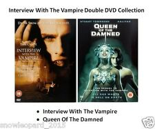 INTERVIEW WITH THE VAMPIRE MOVIE DOUBLE 1 and 2 QUEEN OF THE DAMNED DVD Sealed