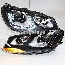 For VW Touareg LED Headlights with Bi Xenon Projector Lens 2011-2014 year LDV1