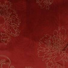 *ON SALE* - Amaya Scarlet -By Wilman Interiors Velvet/Chenille Fabric Per Metre