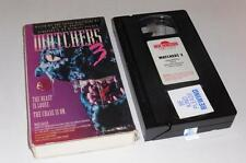 VHS Video ~ Watchers 3 ~ USA Ex-Rental ~ Card Packaging + Plastic Wrapping