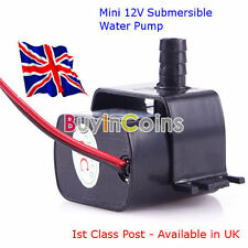 Ultra-quiet Mini 12V 240L/H Brushless Motor Submersible Water Pump - Avail in UK