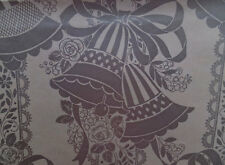 VINTAGE SILVER BELLS LACE BRIDAL SHOWER WEDDING ANNIVERSARY GIFT WRAPPING PAPER