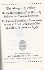 THE ALMAGEST Ptolemy REVOLUTIONS HEAVENLY SPHERES Copernicus HARMONIES WORLD
