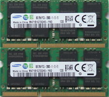 SAMSUNG 16GB KIT (2 X 8GB) DDR3 pc3l-12800, 1600MHz per 2011/2012 Mac Mini's