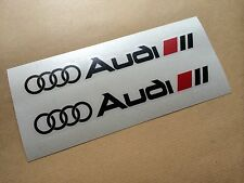 VINILO ADHESIVO PEGATINA AUDI SPORT X2 CAR STICKER DECAL TUNNIG