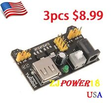 3 X MB102 Breadboard Power Supply Module3.3V/5V for Arduino