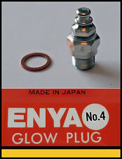 5 x Enya No.4 Glow plug (med temp) Good for 2 stroke and 4 stroke engines
