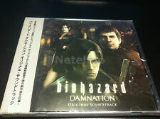 1214 Resident Evil Biohazard Damnation Original CG Motion Picture SOUNDTRACK CD