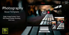 Website HTML - Photography  Muse Template