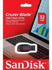 SanDisk 32GB USB SD CZ50 Cruzer Blade 32G USB 2.0 Flash Drive SDCZ50-032G Retail