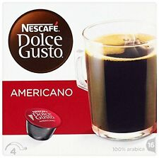 Nescafe Dolce Gusto AmericanoTea Coffe Hot Drinks 16 x3 48 Pods Capsuls Servings