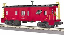 30-77274 - Chicago & North Western Bay Window Caboose  3 Rail 0
