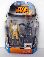 RARE DISNEY Star Wars Rebels BOSSK and IG-88 MS11 Hasbro in blister
