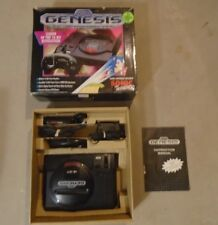 Sega Genesis System Model 1 Console w/ Sonic the Hedgehog 1 Box #Q1