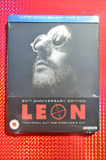 Leon:  Blu ray Steelbook 20th Anniversary Special UK Edition MINT, NEW & SEALED