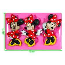 Disney Minnie Mouse Silicone Moule par fairie bénédictions