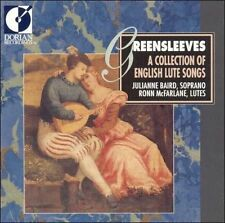 Greensleeves: A Collection of English Lute Songs -  - Audio CD - New Condition