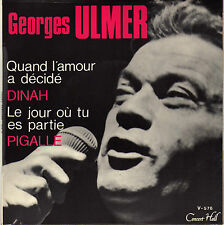 GEORGES ULMER PIGALLE FRENCH ORIG EP JEAN MUSY / JEAN CLAUDRIC