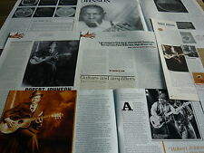 ROBERT JOHNSON - MAGAZINE CUTTINGS COLLECTION (REF R6A)