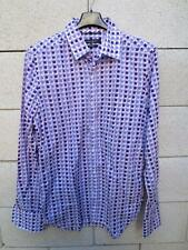 Chemise GUESS by MARCIANO violet design pop seventies M Stretch
