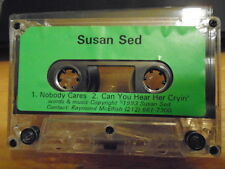 VERY RARE Susan SED Said DEMO CASSETTE TAPE rock 1993 2trx we don't have all day