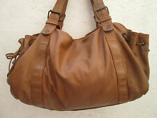 "AUTHENTIQUE sac à main GERARD DAREL ""24h"" en cuir  BEG vintage bag"