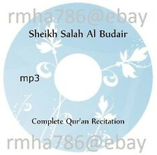 Sheikh Salah Al Budair Full Quran Recitation mp3 CD (no translation) Islam