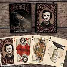 Edgar Allan Poe Deck Bicycle Playing Cards Poker Size USPCC Custom Limited New
