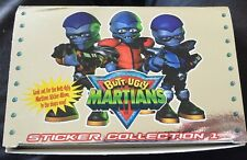 BUTT UGLY MARTIANS STICKER COLLECTION 1 2000 FULL BOX OF PACKETS UNOPENED RARE