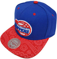 Mitchell & Ness Paisley Los Angeles Clippers EU138 Snapback Caps Kappe Basecaps