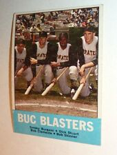 1963 Topps # 18 ROBERTO CLEMENTE 51 yrold PIRATES Buc Blasters EX Baseball Card!