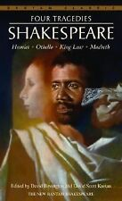 Four Tragedies : Hamlet, Othello, King Lear, Macbeth by William Shakespeare...