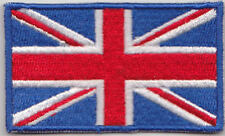 Great Britain UK Union Jack Country Flag Embroidered Patch T4