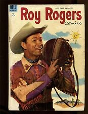 Roy Rogers Comics #67 VG+ Photo Cover